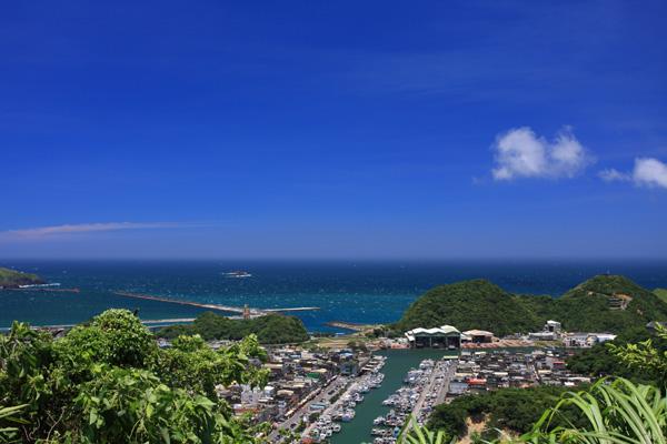 藍天白雲大海=花蓮